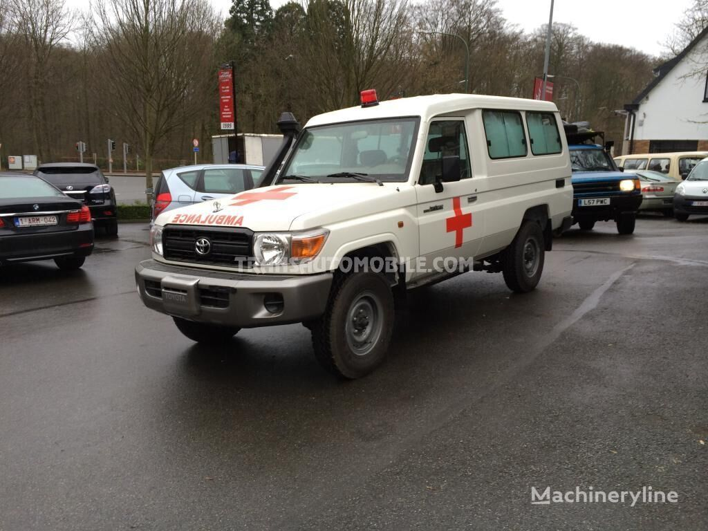 ny TOYOTA Land Cruiser ambulance