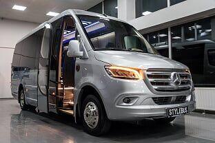 ny MERCEDES-BENZ 519 passager minibus