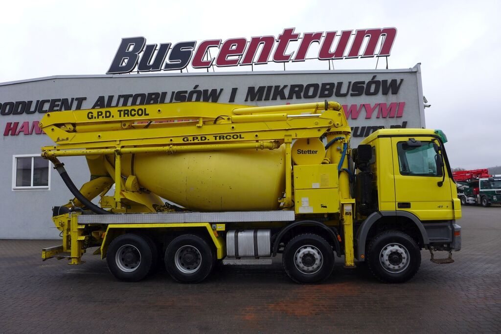 MERCEDES-BENZ Actros 4141 8x4 Schwing 24m / 125 mm betonpumpe