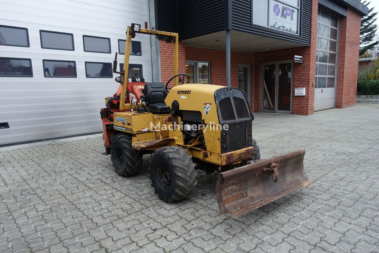 VERMEER  RT450 // WITH BACKHOE rendegraver