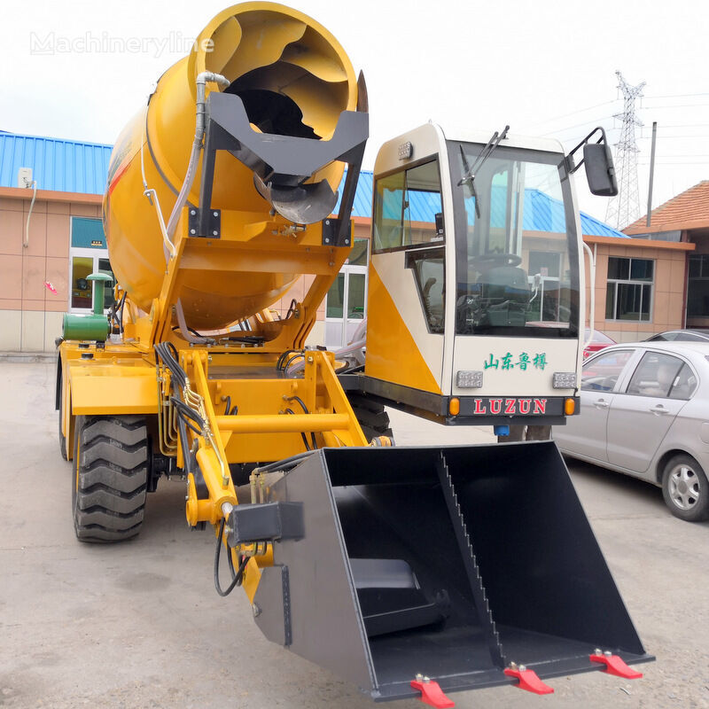 ny selfloading concrete mixer scraper
