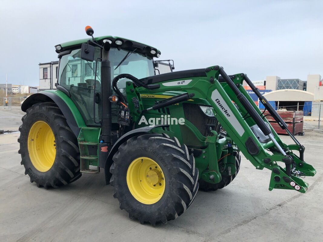 JOHN DEERE 6115R traktor på hjul