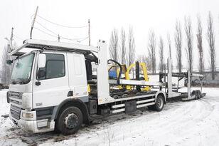 DAF CF 75 360 , E5 , 4x2 ,MEGA , LOHR , retarder , sleep cab  autotransport + anhænger autotransport