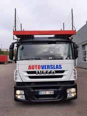 IVECO STRALIS autotransport + anhænger autotransport