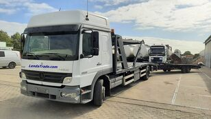 MERCEDES-BENZ Atego 1323 / 7 Cars / Winch / Airco autotransport + anhænger autotransport
