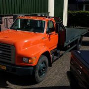 FORD F800 autotransport