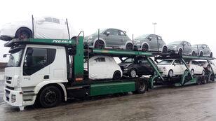 IVECO STRALIS 450 autotransport + anhænger autotransport