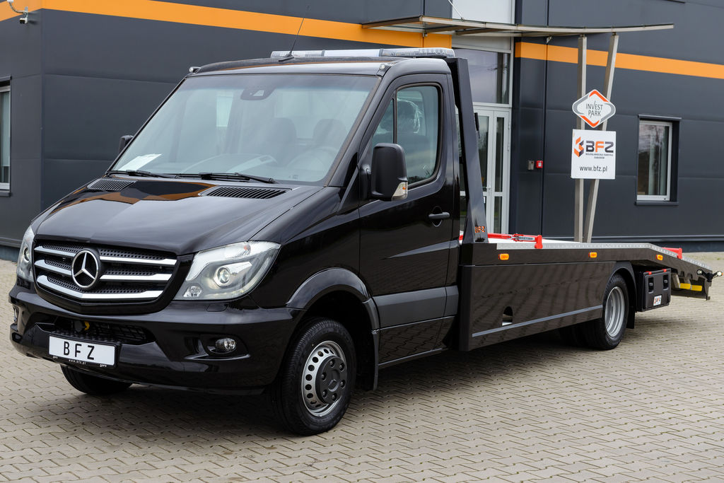 Ny mercedes benz sprinter 519 cdi autotransport til salg for Mercedes benz syracuse ny