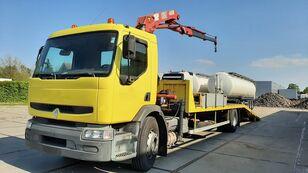 RENAULT Premium 250.19 Crane Winch autotransport