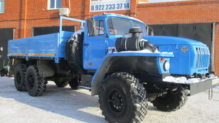 ny URAL 4320 fladvogn lastbil
