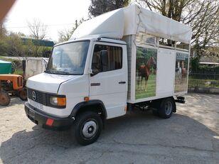 MERCEDES-BENZ 609 hestetransporter lastbil