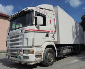 SCANIA R114 380 kølevogn lastbil