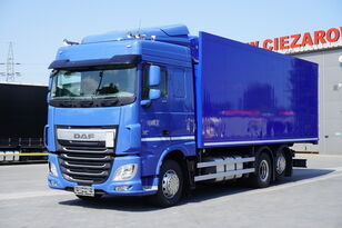 DAF XF 460 SC , E6 , 6X2 , Schmitz 19 EPAL , manual , retarder  kølevogn lastbil