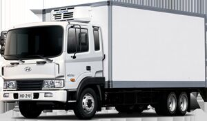 ny HYUNDAI HD 210 kølevogn lastbil