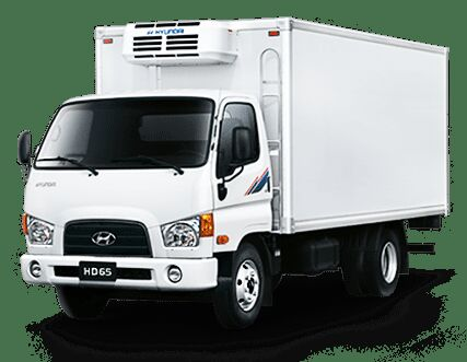ny HYUNDAI HD65 4WD kølevogn lastbil