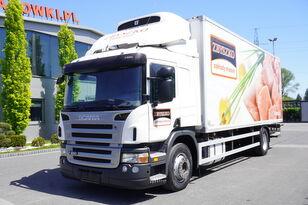SCANIA P280 , E5 , 18 EPAL , Meat HOOKS , tail lift , retarder , sleep  kølevogn lastbil