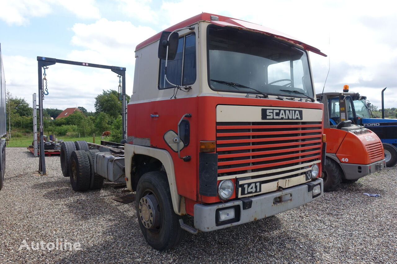 SCANIA LBS141  lastbil chassis