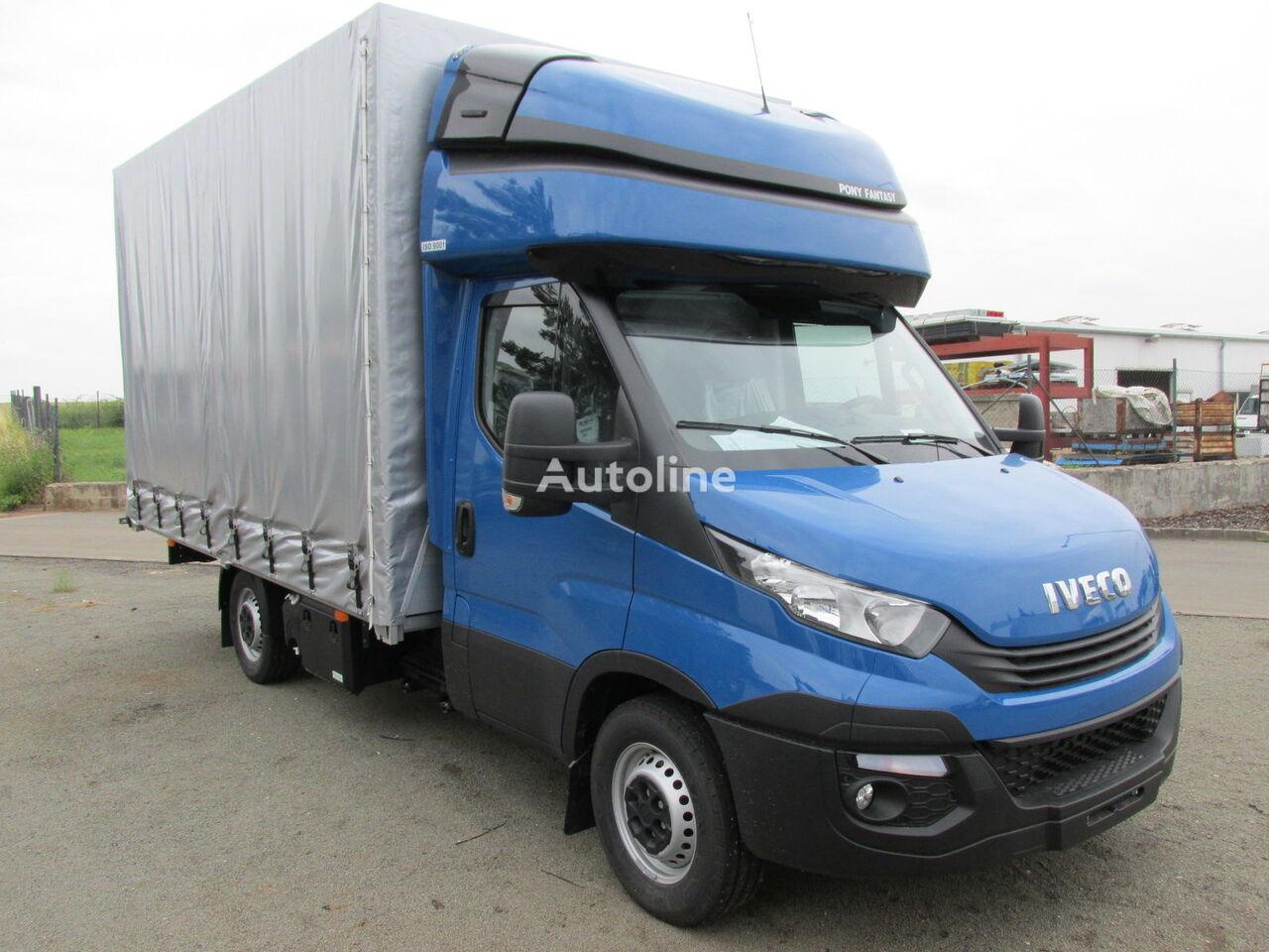 ny IVECO 35S18 lastbil glidende gardiner
