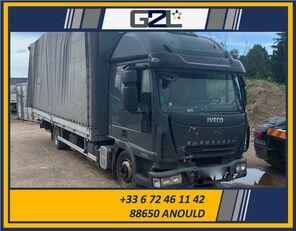 beskadigede IVECO EUROCARGO 75E18 *ACCIDENTE*DAMAGED*UNFALL* lastbil kassevogn