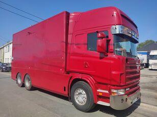 SCANIA 144 G  460  V8   6x2  ///MANUEL//RETARDER///FRENCH TRUCK/// lastbil kassevogn