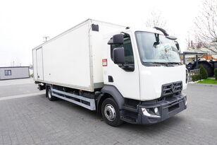 RENAULT D12 , E6 , 4x2 , Box 18 EPAL side door  , tail lift Dhollandia , lastbil kassevogn