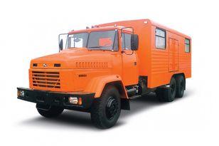 ny KRAZ 65053 мастерская  militærkøretøj