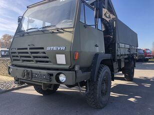 STEYR 1291.320 P43/M 4x4 Pritsche mit Plane militærkøretøj