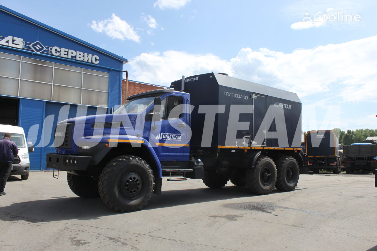 ny UNISTEAM PPUA 1600/100 serii UNISTEAM-M1 URAL NEXT 4320 militærkøretøj