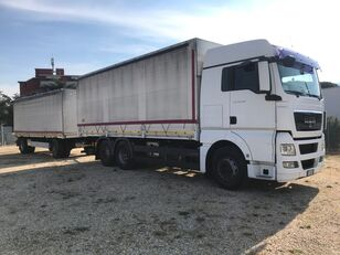 MAN TGX 26.480 CENTINATO CON RIMORCHIO Rif.T21-033 presenning lastbil + anhænger presenning
