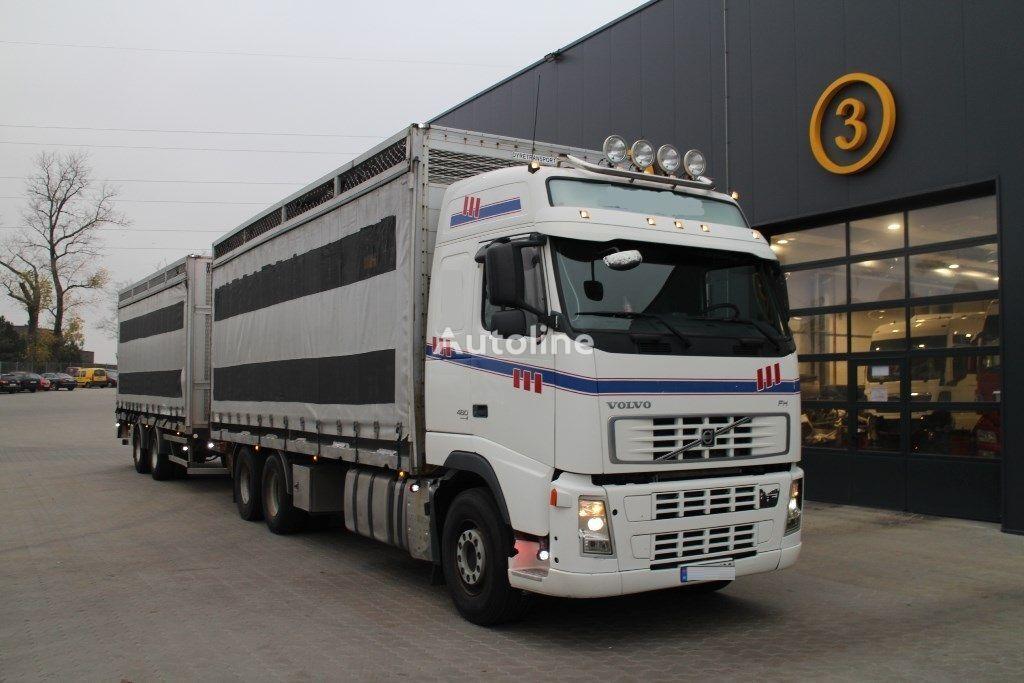 VOLVO FH12.480  presenning lastbil + anhænger presenning