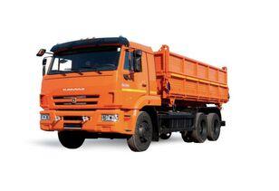 ny KAMAZ 45143-6012-50 tippelad lastbil