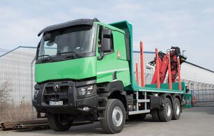 ny RENAULT K 520 P HEAVY tømmervogn