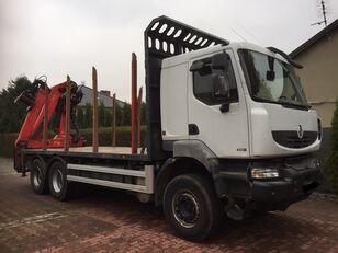 RENAULT Kerax 450 DXI tømmervogn