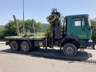 MAN F2000 33.410 tømmervogn