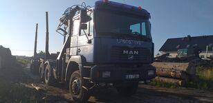 MAN Fe 460 6x6 tømmervogn
