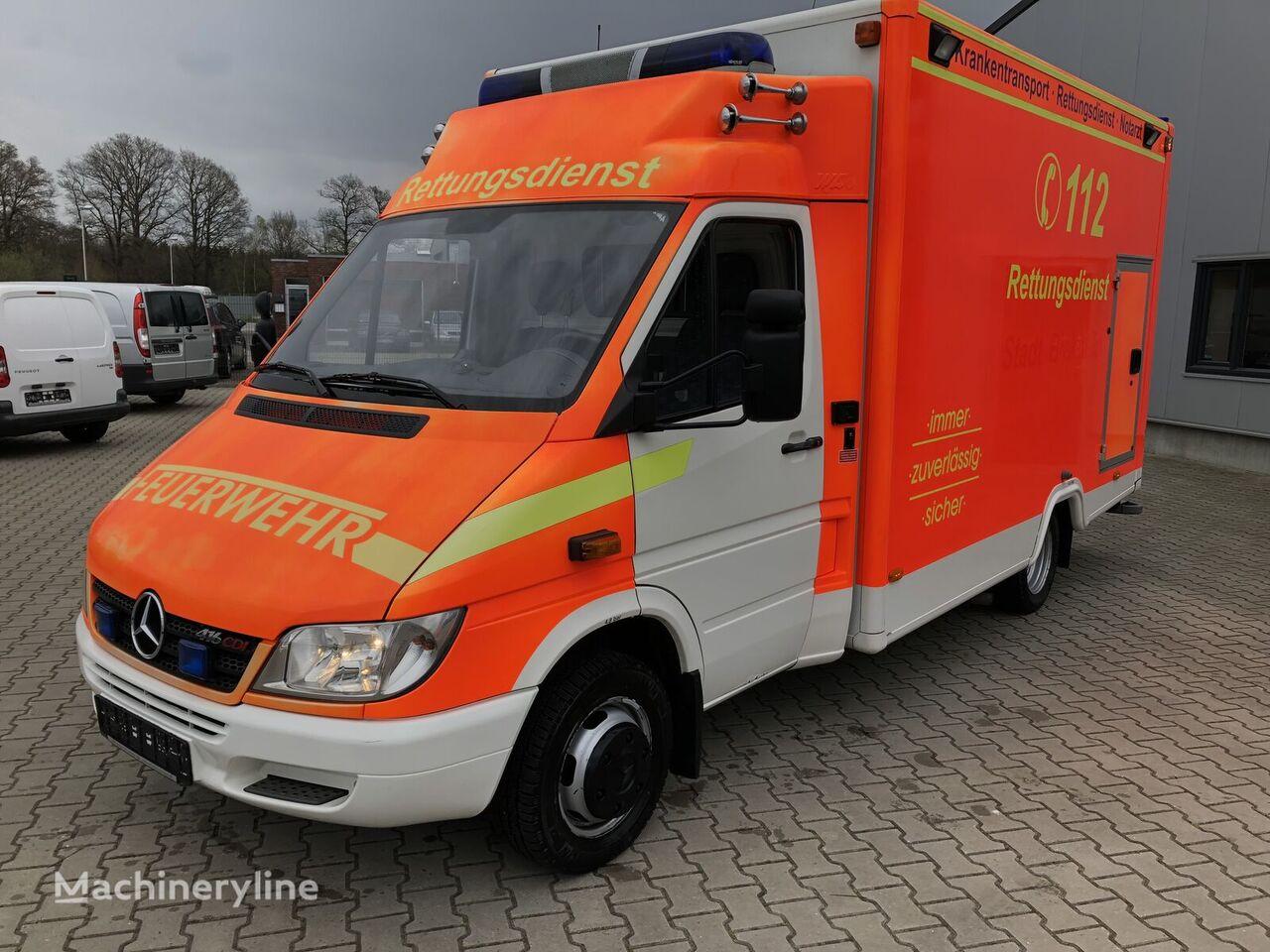 MERCEDES-BENZ Mercedes-Benz Sprinter 416 CDI Aut.Klima Standh. ATM ambulance