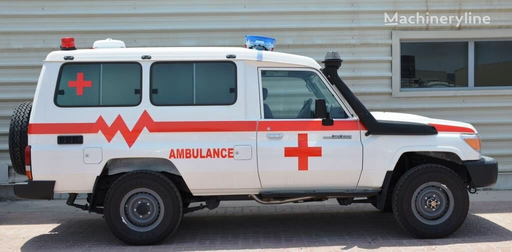 ny TOYOTA LC70 Series 4.5 litre Hard top Land Cruiser LHD ambulance