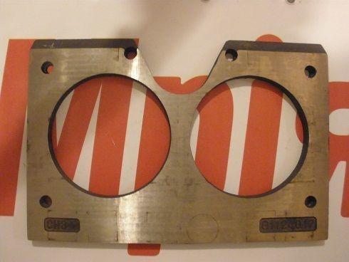 ny Iznosostoykie (plity treniya) MECBO brilleplade til betonpumpe