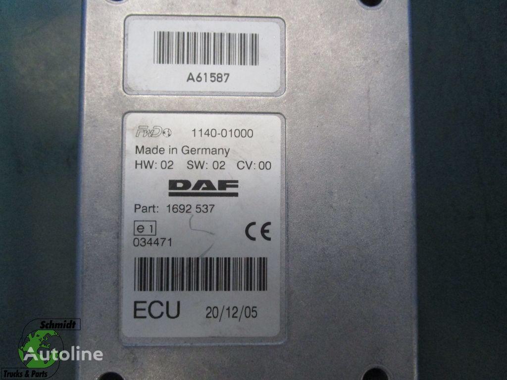 DAF 1692537 Regeleenheid kontrolenhed til DAF trækker