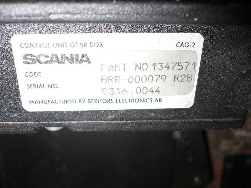 SCANIA GEAR BOX 1347571 . 1362616 . 1505135 . 488207. 1434153. 1368153. kontrolenhed til SCANIA 113 bus