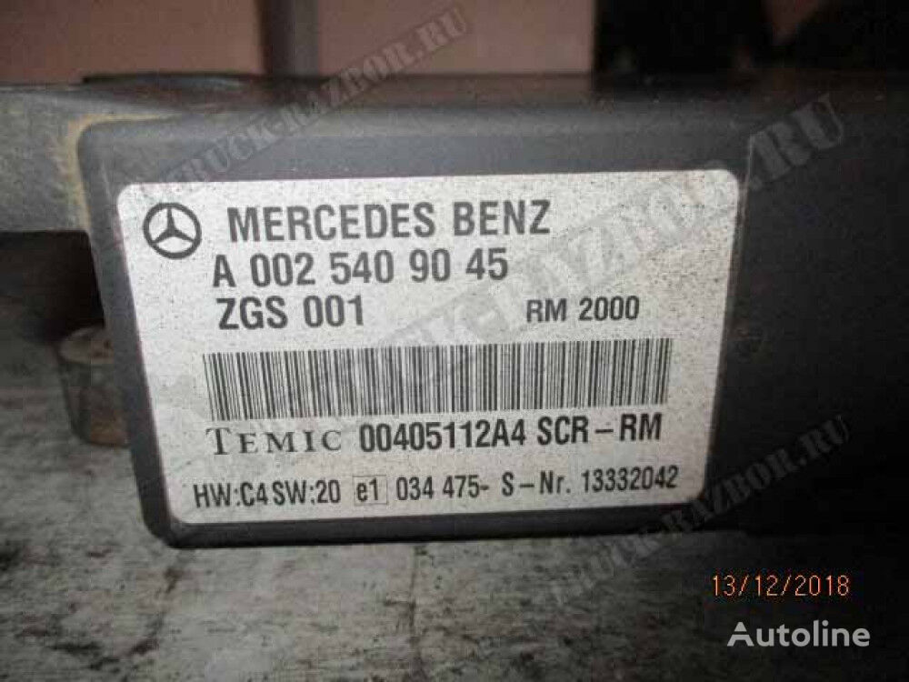 blok SCR kontrolenhed til MERCEDES-BENZ trækker