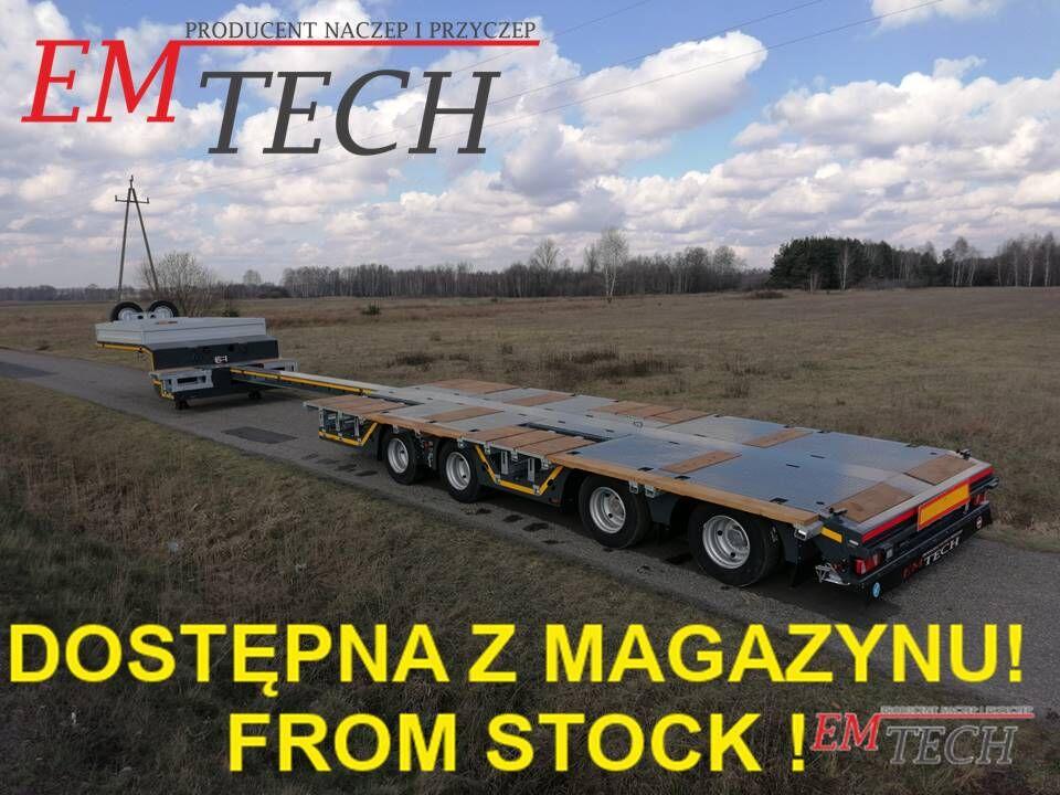 ny EMTECH Nowa niskopodwoziowa 4.NNZ-1R-2N (2 750 !, NA) - Z MAGAZYNU / ST sættevogn nedbygget
