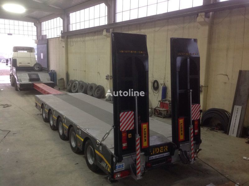 ny LIDER NEW 2020 model new by manufacturer Lider Trailer sættevogn nedbygget